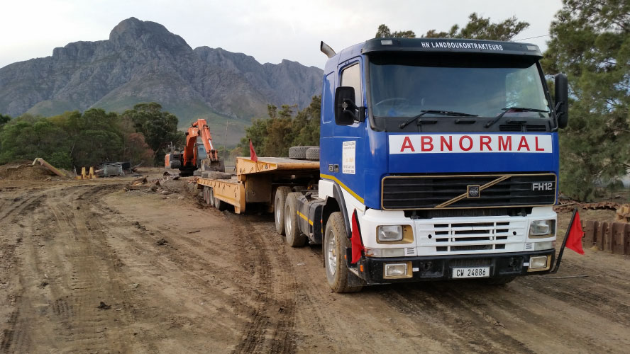 lowbed and trailer product hire